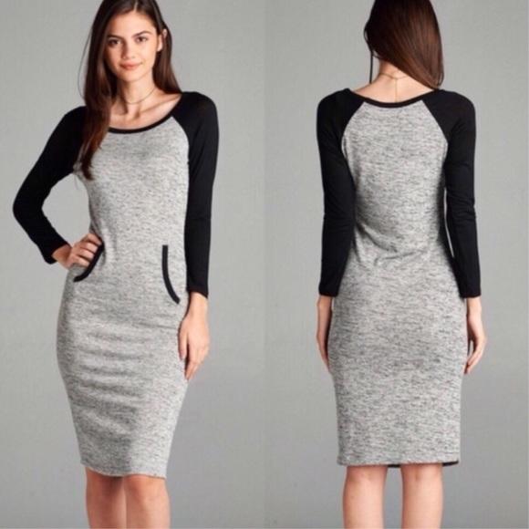 Dresses & Skirts - Raglan Sleeve Dress